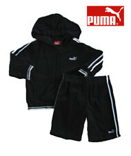 NWT Puma Boys Black & White Two Piece Shorts Set(Size 18 Months) MSRP$46.00 NEW