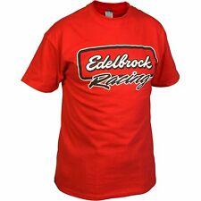 Edelbrock 2313 Edelbrock Racing T-Shirt Racing Black XL Edelbrock Racing T-Shirt