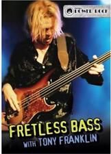 TONY FRANKLIN - FRETLESS BASS USED - VERY GOOD DVD