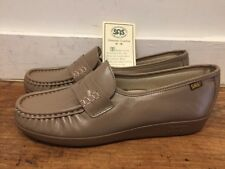 SAS WOMEN'S Soft Step HANDSEWN COMFORT ORTHOPAEDIC DIABETIC Loafer SHOES 10 S