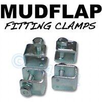 Mudflap Mud Flap Fitting fixing U CLAMPS x 4 Mercedes