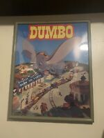 Vintage Walt Disney Poster 1941 Dumbo Biggest Little Show On Earth Framed