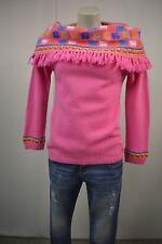 RENE DERBY Damen  Strick Pullover S  Pinkrosa Franse Angora 63% Lammwolle TOP