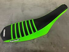 Kawasaki KFX 450 R Seat cover 2008 - 2014 Green  / Black / Green  Enjoy Mfg #229