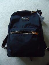 NWT Adrienne Vittadini Nylon Fashion Backpack with Workbook Sleeve, black