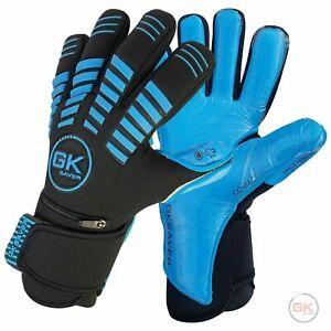 GK Saver Protech 301B contact pro Football Goalkeeper Gloves Size 6-11