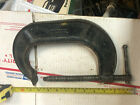 """Vintage Heavy Duty 6"""" """"C"""" Clamp marked: JORGENSON 126, MADE IN USA, Metal Art"""