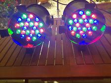 2x Showtec LED PAR 64