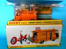 DINKY TOYS 570 A PEUGEOT J 7 AUTOROUTE 045 2576045 -  ATLAS EDITIONS 1/43 [N]