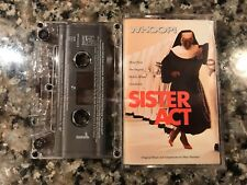 Sister Act Music From The Original Motion Picture Soundtrack Cassette!