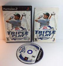 PS2 Triple Play Baseball ( Sony PlayStation 2 )