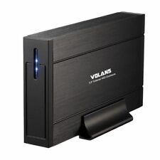 """Volans UE35 Aluminium 3.5"""" SATA USB 3.0 Hard Drive External Enclosure Case Caddy"""