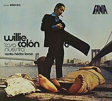 Willie Colon Cosa Nuestra LP Vinyl 8 Track 180 Gram Vinyl Remastered From The