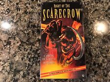 Night Of The Scarecrow New Sealed Vhs! 1981 TV Horror! Mischief Night 31