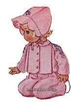 Vintage Toddler SEWING PATTERN Jacket Bonnet Hat Jumpsuit Children Size 2 COPY