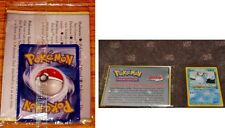Marill Ultra Rare Black Star NEO Genesis Pokemon Promo #29 Factory Sealed Book!