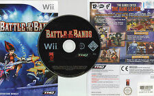 BATTLE OF THE BANDS - TWO BANDS ENTER - ONE BAND LEAVES NINTENDO Wii GAME
