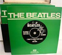 "Beatles Singles Collection 1962 - 1970 7"" Vinyl 45RPM Parlophone Records List 1"