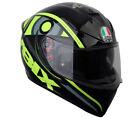 Casco integral moto Agv K-3 K3 Sv Valentino Rossi Solun 46 Talla L sol luna