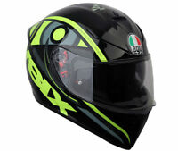 Helmet moto Agv K-3 K3 Sv Valentino Rossi Solun 46 XL casque integral helm