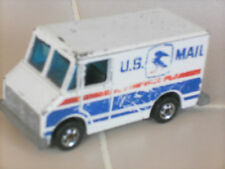 vtg MATCHBOX mail Delivery service truck 1975 US MAIL usps USED ABUSED hong kong