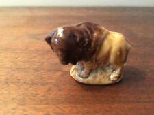 Wade England Porcelain Whimsies Figurine 165-51: Bison (Red Rose Tea)