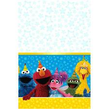"Sesame Street Plastic Table Cover 54"" x 96"""