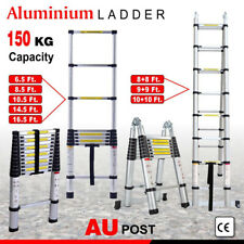 Industrial Aluminium Telescopic ladder Extendable Extension Ladders folding step