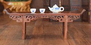 QL001 - 28*7*11 CM Red Suan Zhi Wood Mini-Furniture Altar Table