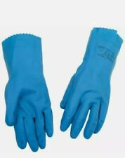 12 PAIRS Ansell AlphaTec Blue 88-356 Latex Gloves Size 8