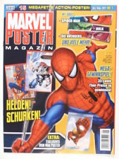 Superhelden Comic-magazinen