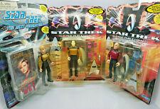 NEW LOT 3 Star Trek:TNG + Generations Playmates Figures Picard, Data, Yar sci fi