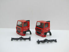 1:87 EM5975 Herpa 2x BAUSATZ für DAF CF ND Kabine rot neu für Umbau Eigenbau