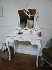 Handmade French Bordeaux Dressing Table In White