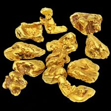 Three (3) Real Gold Nuggets flakes from Alaska - coins, gold bar,
