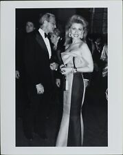 Georsette Mosbacher, Robert ORIGINAL PHOTO HOLLYWOOD Candid