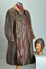 Royal Flying Corps Pilot's WW1 Map, Well Weathered Leather Coat & Helmet. ZTCE