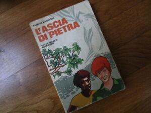 LIBRI RAGAZZI DA COLLEZIONE: L'ASCIA DI PIETRA (P.WRIGHTSON) - MONDADORI 1973