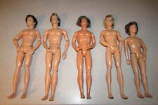 5 Ken Doll Articulated Male Nude Boy Mattel Rooted Hair Lot My Scene