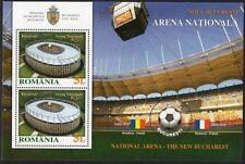 ROMANIA MNH 2011 NATIONAL ARENA MINISHEET