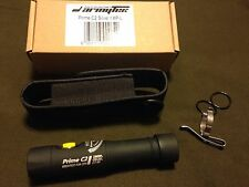 ArmyTek Prime C2 v3 XP-L Black Bezel 1200 LED Flashlight and Holster