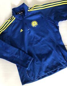 Adidas~Climawarm~2009 Boston Marathon~BAA~Blue 1/4 Zip Sweatshirt~XL