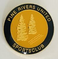 Pine Rivers United Sports Club Pin Badge Rare Vintage (A4)