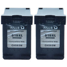 2PK 61-XL For HP 61XL Black Ink Cartridge CH563W Deskjet 1055 1510 1512 Printer