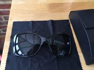 PRADA TRIANGLE SPR32P 1AB/5W1 Black/Polarised Sunglasses