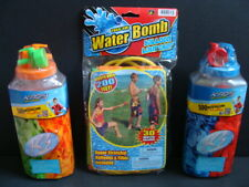 NEW KAOS Water Balloons + Bomb Launcher 1030 Pcs + 4 Faucet Fillers Catapult NIP