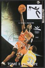 "Sao Tome e Principe: Michel Block-Nr. 277 ""Olymp. Sommerspiele´92"" 1992, gest."