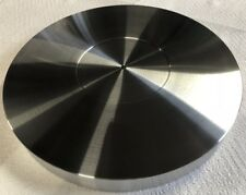 "TURNTABLE PLATTER MAT 12"" X 1-1/2"" ALUMINUM *FLAT* USA! *CUSTOM ORDERS WELCOME*"