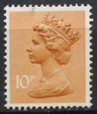 GB SG#X939, 10p Orange-Brown QEII Machin Definitive PP MNH #D2999