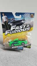 Mattel 1/64 Diecast The Fast And The Furious Brian's Mitsubishi Eclipse